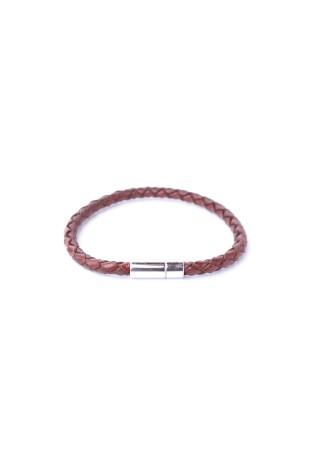 Bracelet Tressé Chestnut
