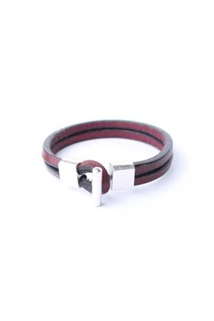 Bracelet Tau Burgundy